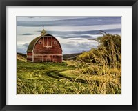 Framed Palouse Barn