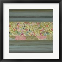 Framed Gift of Blooms I