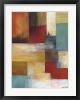 Framed Abstract Blue