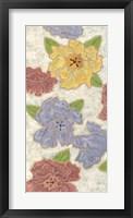Confetti Poppies II Framed Print
