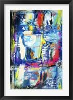 Spiritual Graffiti II Framed Print