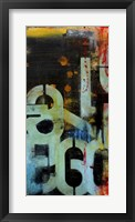 Out Numbered II Framed Print