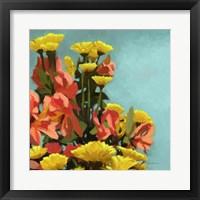 Framed Vibrant Bouquet II