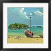Framed Sailing Serenity I