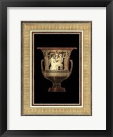 Framed Etruscan Earthenware IV