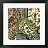 Framed Tapestry Elegance III