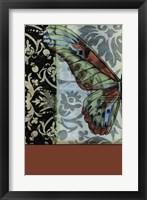 Butterfly Tapestry I Framed Print