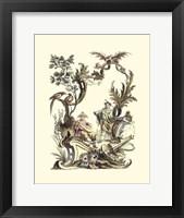 Framed Oriental Garden III