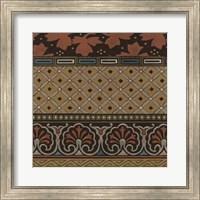 Framed Heirloom Textile II