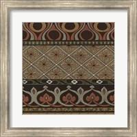 Framed Heirloom Textile III