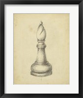 Framed Antique Chess II