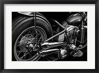 Framed Vintage Motorcycle II