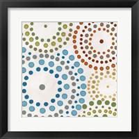 Mosaic Mandalas IV Framed Print