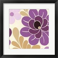 Fuchsia Floral I Framed Print