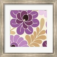 Framed Fuchsia Floral II