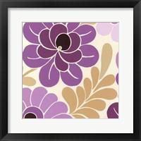 Fuchsia Floral II Framed Print