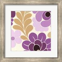 Framed Fuchsia Floral III