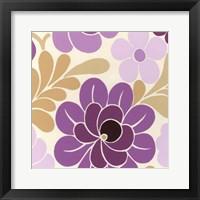 Fuchsia Floral IV Framed Print