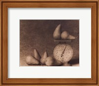 Framed Pears with Scale
