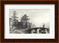 Framed Western Gate, Peking