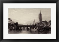 The Bridge of Nanking Framed Print