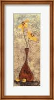 Framed Fleur III