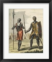 Framed Armored Soldiers I