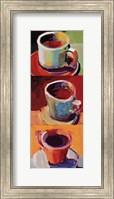 Framed Three Cups o' Joe II