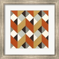 Framed Chevron Illusion I