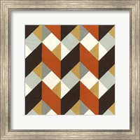 Framed Chevron Illusion IV