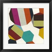 Poly-Rhythmic I Framed Print