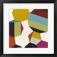 Poly-Rhythmic III Framed Print
