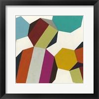 Poly-Rhythmic IV Framed Print