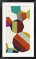 Poly-Rhythmic V Framed Print