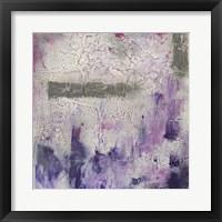 Framed Dusty Violet I