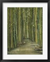 Framed Bamboo Pond