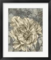 Framed Tulip & Wildflowers IX