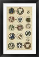 Framed Imperial Crest I