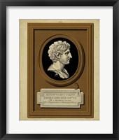 Greek Cameo I Framed Print