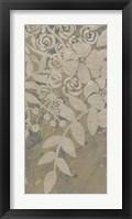 Framed Linen Chintz II
