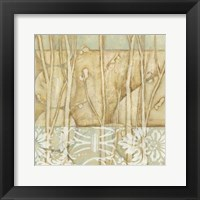 Framed Small Willow and Lace IV