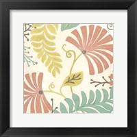 Framed Veranda Floral III