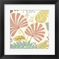 Framed Veranda Floral IV