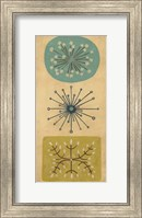Framed Starburst Trio I