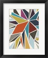 Framed Pinwheel I
