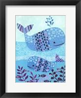 Framed Ocean Blue