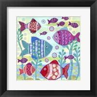 Ocean Fish I Framed Print