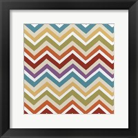Retro Pattern II Framed Print