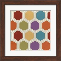 Framed Retro Pattern IV