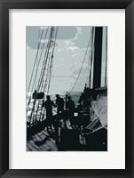 Framed Caribbean Vessel II